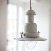 Houseology Garden Trading Small Pendant Fishing Light in Clay