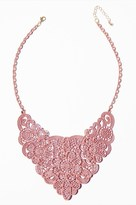 Dynamite Floral Statement Necklace