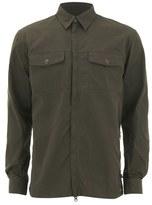 Fjäll Räven Men's G1000 Long Sleeve Shirt - Dark Olive