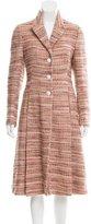 Prada Wool Patterned Coat