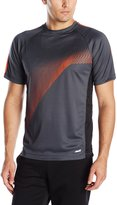 Avia Men's Interlock Short Sleeve Performance T-Shirt