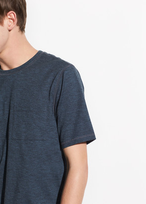 Vince Single Pocket Short Sleeve Crew