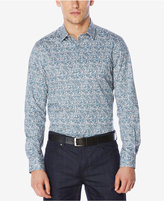 Perry Ellis Men's Performance Stretch Printed Shirt, A Macy's Exclusive Style