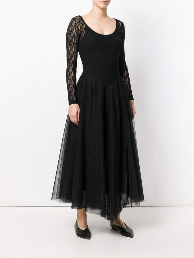 Nina Ricci lace ballerina skirt dress