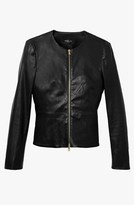 Derek Lam Zip Front Peplum Jacket