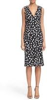 Altuzarra 'Genevive' Dot Print Sleeveless Sheath Dress