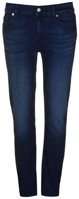 7 For All Mankind Roxanne Mid Rise Jean