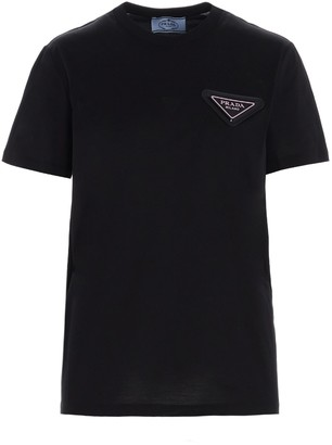 Prada Triangle Logo T-Shirt