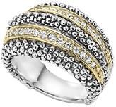 Lagos Women's Diamond Caviar Beaded Ring