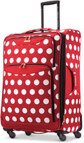 """Disney Minnie Mouse Polka Dot 28"""" Spinner Suitcase by American Tourister"""