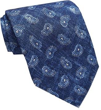 David Donahue Paisley Necktie (Denim) Ties