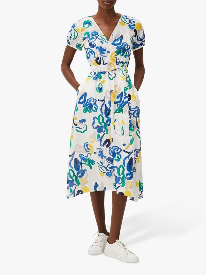 Thumbnail for your product : Phase Eight Jana Midi Wrap Dress, Multi