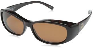 Solar Shield Sammy Polarized Rectangular Sunglasses