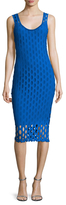 Tracy Reese Eyelet Tank Sheath Dress