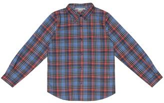 Bonpoint Checked cotton shirt