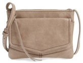 Hobo Amble Leather Crossbody Bag - Grey