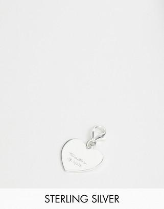 Thomas Sabo sterling silver heart charm