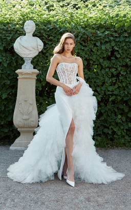 Rasario Bridal Lace Corset Gown