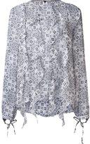 Thomas Wylde silk 'Zappa' blouse - women - Silk - XS