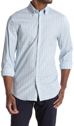Tommy Hilfiger Slim Fit Plaid Dress Shirt
