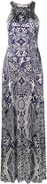 Mary Katrantzou 'poker' halterneck dress - women - Spandex/Elastane/Viscose - XS