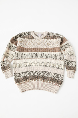 Urban Renewal Vintage Recycled Fair Isle Sweater