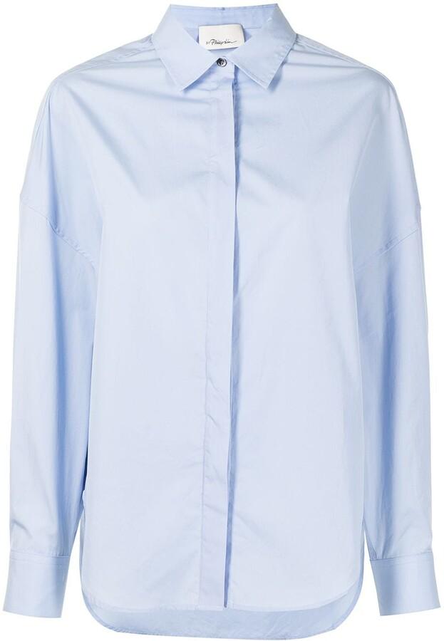 3.1 Phillip Lim Long-Sleeve Button-Up Shirt