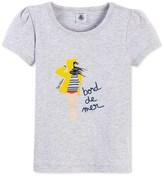 Petit Bateau Girls Marinette screen print T-shirt