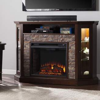 """Alcott Hill Montpelier TV Stand for TVs up to 50"""" with Fireplace Included Alcott Hill"""
