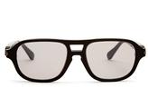 Brioni Aviator-style acetate sunglasses