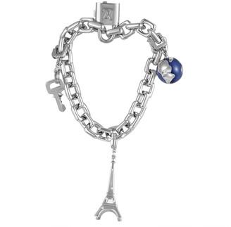 Louis Vuitton Heritage  18K Diamond Charm Link Bracelet