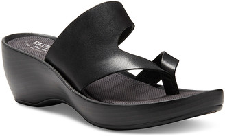 Eastland Women's Sandals BLACK - Black Laurel Leather Heeled Sandal - Women