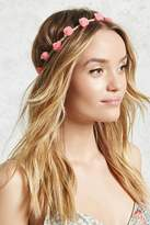 Forever 21 FOREVER 21+ Floral Rope Headwrap