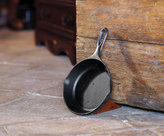Cast Iron Pan Doorstop