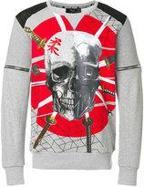 Philipp Plein Samurai sweatshirt - men - Cotton/Polyester - S