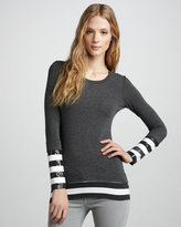Bailey 44 Two-Layer Jersey Top