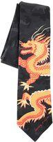 Valentino Funny Dragon Camouflage Tie