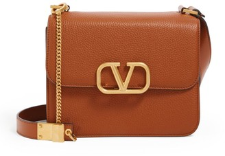 Valentino Garavani Leather VSLING Shoulder Bag