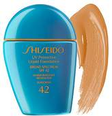 Shiseido SPF42 UV Protective Liquid Foundation, # SP70 Dark Ivory, 1 Ounce by