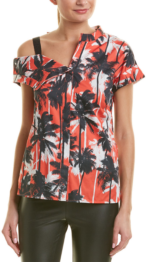 Jason Wu Asymmetrical Shirt