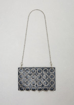 Rachel Comey space patent sila chain bag