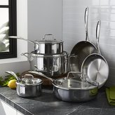 Crate & Barrel ZWILLING ® J.A. Henckels VistaClad 10-Piece Cookware Set