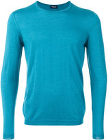 Drumohr crew neck jumper - men - Silk/Cashmere - 46