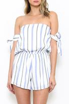 L'atiste Striped Romper