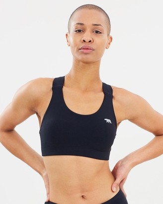 Running Bare Classic Power Up Cross Back Crop Top