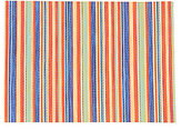 Fiesta Shindig Striped Placemat