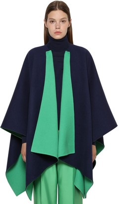 Ralph Lauren Collection Reversible Wool Cape