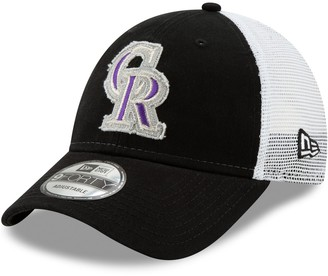 New Era Adult Colorado Rockies Team Truckered 9FORTY Baseball Cap