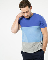 Le Château Stripe Cotton Crew Neck Tee