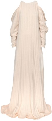 Z.G.Est Off-Shoulder Maxi Dress
